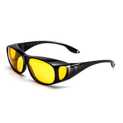 開車專用偏光夜視眼鏡近視套太陽鏡男女夜間防遠光燈成人駕駛墨鏡