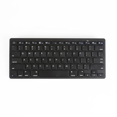 吉選(GESOBYTE)BK78 鍵盤 無線藍牙辦公鍵盤 商務鍵盤 78鍵 超薄 surface ipad 平板 黑