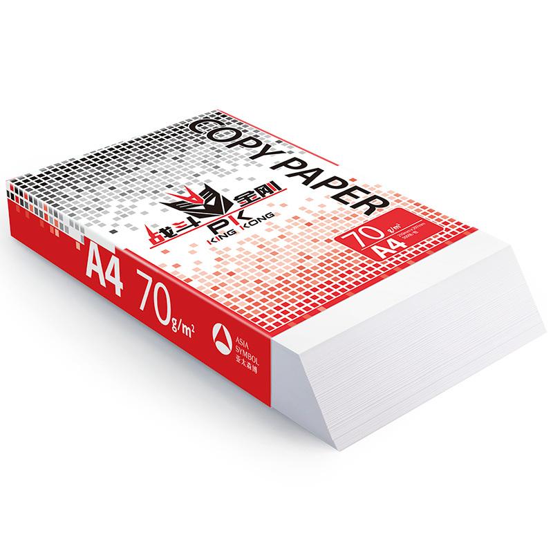 战斗金刚复印纸 A4 70g 8包/箱 500张/包N