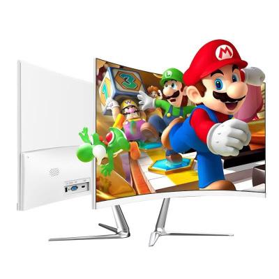 电脑台式机显示器19/22/24/27/32寸曲面2K屏幕144监控IPS显示屏游戏 27寸曲面显示器 自带音响 HDM