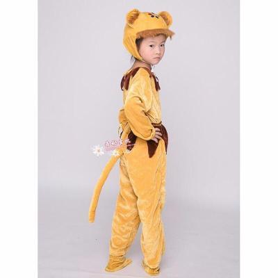 六一兒童動物服裝小猴子成人幼兒動物造型表演衣服猴子舞蹈服裝