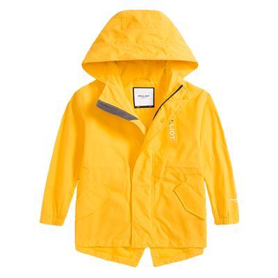 伯希和戶外兒童夾克沖鋒衣男女中大童2019新款滌綸洋氣防水防風保暖外套