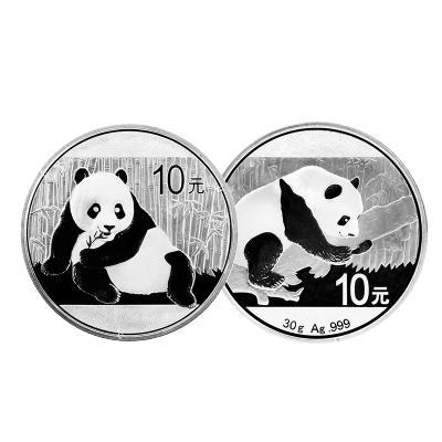 河南中錢 中國金幣 2015年銀貓+2016年銀貓 整版各十五枚套裝