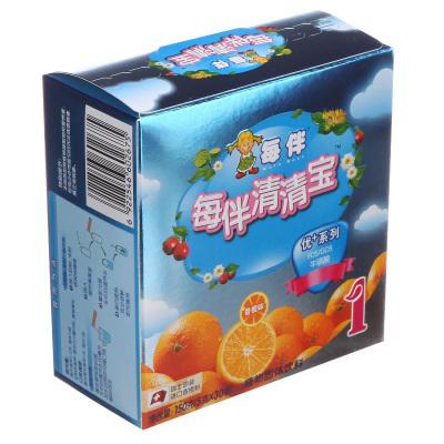 每伴(Mate best)清清宝优+系列香橙味1段150g 盒装 国产