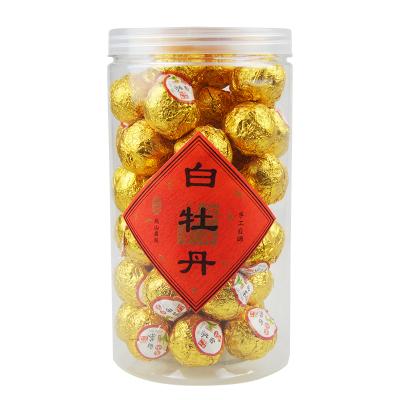 民之福 福鼎白茶白牡丹散裝茶葉2012茶坨棗香型250克罐裝