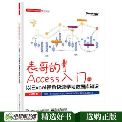 正版 表哥的Access入門以Excel視角快速學習數據庫知識 Excel數據處理分析office表格制作辦公軟件自動化