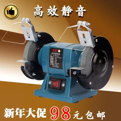 福賽砂輪機臺式220v家用小型工業級電動多功能手砂輪拋光機磨刀機