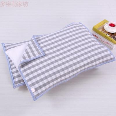 老粗布枕巾單人加厚四季棉布單只裝一對請拍數量二