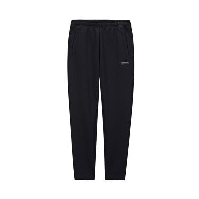 361°男褲新款針織長褲休閑褲訓練寬松拉鏈褲子直筒運動褲