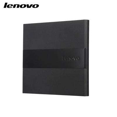 聯想Lenovo配件8倍速 USB2.0外置光驅 DVD刻錄機移動光驅DB75-Plus 黑色