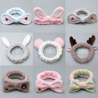 黛鬟【買二送一】洗臉帶頭套女韓版飾頭箍簡約寬邊頭巾箍頭飾品