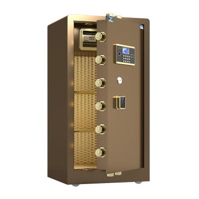 虎牌保險柜1米大型辦公 悅虎新品電子密碼防盜保管柜全鋼入墻保險箱家用