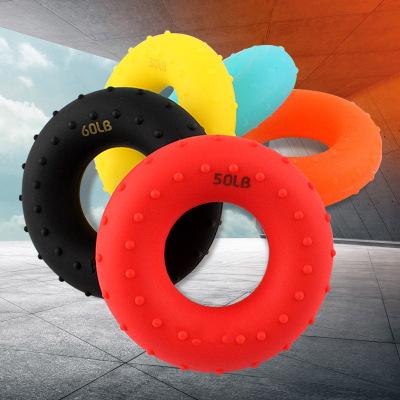 闪电客握力器橡胶圈硅胶握力圈指力器握力球男式健身器专业练手力