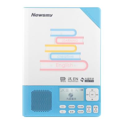紐曼(Newsmy) 復讀機 CD-L200 藍色 CD 光盤 隨身聽播放器 英語學習機 復讀機CD插卡U盤播放機復讀機