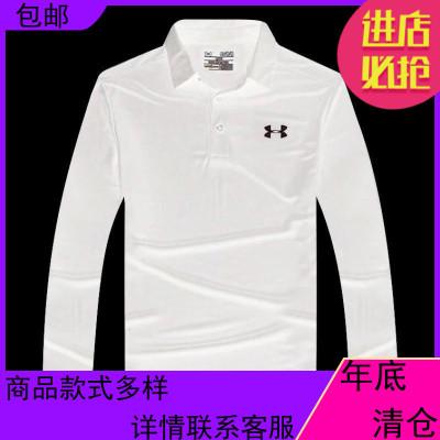 19新款高尔夫服装秋季高尔夫长袖T恤男士球衣速干户外运动健身服
