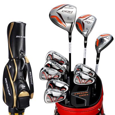 登路普(DUNLOP) 高尔夫球杆 套杆 男士球杆 碳素杆身 全套球具DDH系列