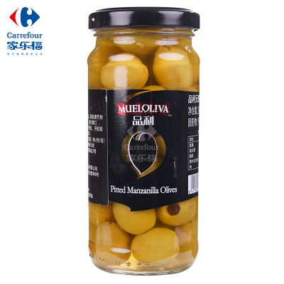 【家乐福】品利无核青橄榄罐头240克