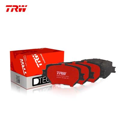 天合(TRW)后剎車片.陶瓷GDB1685DTE適用于11-17款進口沃爾沃S60 1.6T/2.0T