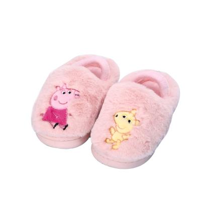 小猪佩奇 Peppa Pig 男女儿童棉拖鞋 9886
