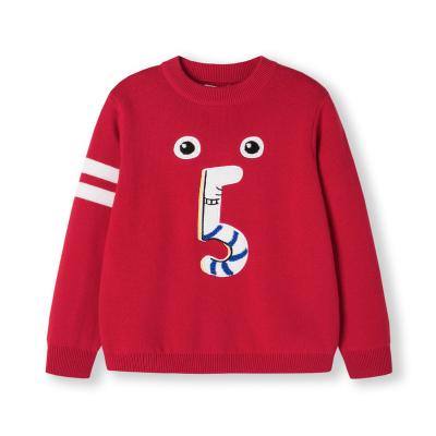 巴拉巴拉男童針織衫毛衣寶寶春冬新款童裝線衣純棉套頭打底衫