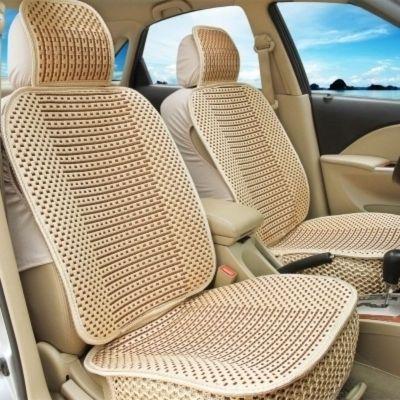 樂思途別克gl8座套七座專用商務車老款陸尊新艾力紳布座套全包7坐夏季冰絲坐墊套 [豪華 [平板]正副駕駛-金