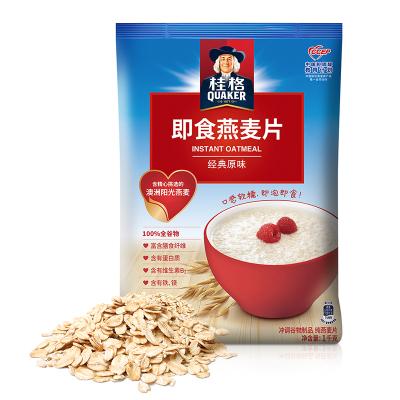 桂格(Qukaer) 即食燕麦片 1000克超值袋装 新旧包装交替发货