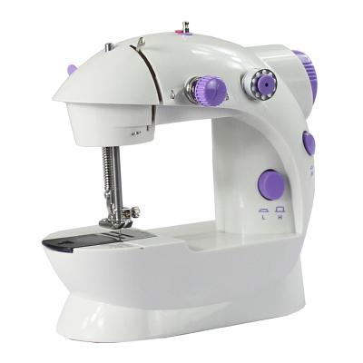 乾越(qianyue)縫紉機家用電動迷你多功能小型手動吃厚微型腳踏縫紉機