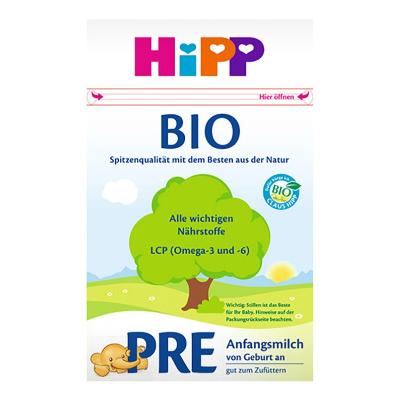 Hipp 德國喜寶 嬰幼兒配方奶粉 有機版 pre段 600g/罐 (0-3個月)21年6月