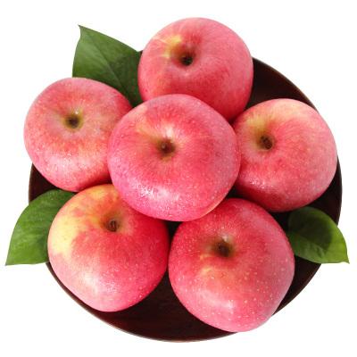 【優惠券減2元】百寶源 山東煙臺棲霞紅富士蘋果5斤新鮮蘋果 脆甜多汁 紅潤飽滿