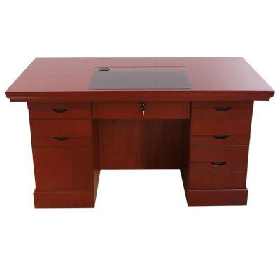 鑫金虎 辦公家具辦公桌其他 現代中式木質人造板油漆辦公桌 油漆辦公桌 1400*700*760
