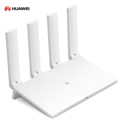 华为(HUAWEI)智能无线路由器WS5200四核版 双千兆双频5G家用大户型大功率高速光纤穿墙1167Mbps 网口盲插 四颗wifi信号放大器 加宽四天线 手游加速 凌霄四核