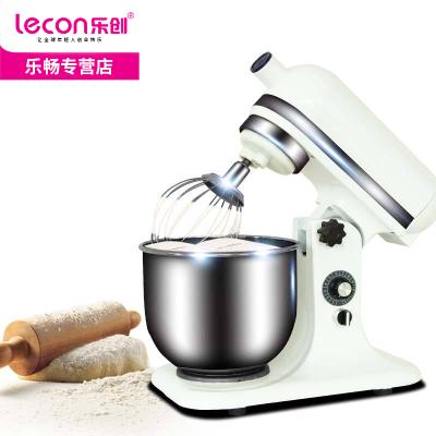 lecon乐创 7L鲜奶机 商用不锈钢和面机揉面机搅拌机厨师机打蛋器 奶油打发机