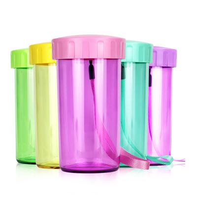 特百惠(Tupperware)雅致杯300ml 创意便携塑料防漏运动儿童学生随手水杯