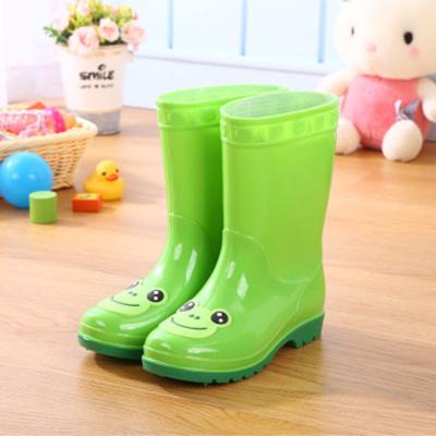 儿童雨鞋卡通中筒雨靴男童女童防滑水鞋宝宝学生两用胶鞋 莎丞