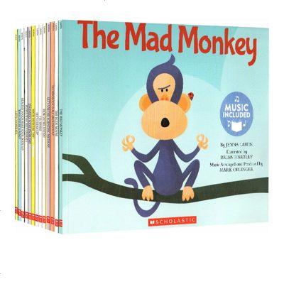 英文原版 Cantata Learning 书+CD STEM教育绘本 13册合售 儿童启蒙有声读物