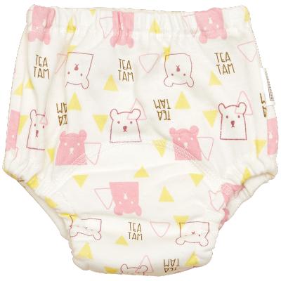 棉花堂寶寶如廁訓練褲純棉防漏可洗戒尿布褲男女兒童學習褲夏季