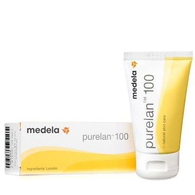 美德乐(medela)深度滋润乳房护理纯羊毛脂膏孕妈乳头保护保湿乳 37g 单包装 PP材质