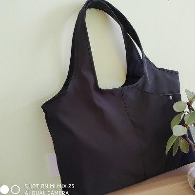 贝哈哈(BEIHAHA) 多功能大容量中年妈妈咪包防水尼龙布单肩包轻便手提包广场舞蹈包