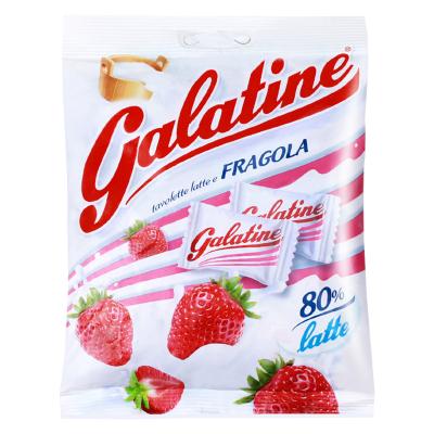 【草莓味奶片】佳乐锭(Galatine)牛奶片牛乳糖草莓味 115g/袋 休闲零食 糖果 进口食品 意大利进口