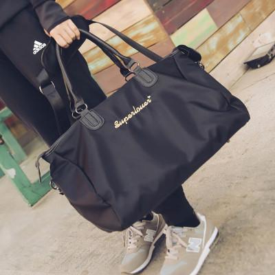 獅聞 旅行包男女手提包行李袋行李包健身包運動包高品質旅行包大容量牛津布結實耐用出行包登機包