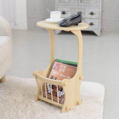 小戶型客廳沙發邊幾臥室床頭桌子移動實木簡易邊柜小茶幾簡約迷你