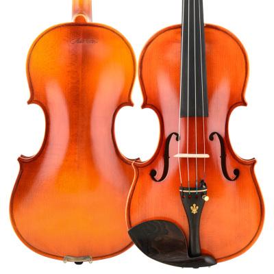 Christina克莉絲蒂娜小提琴V04手工成人兒童考級專業演奏小提琴雪嶺云杉木4/4