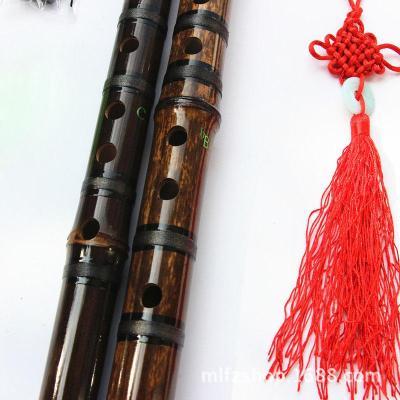炎黃天然紫竹笛子 單節紫竹笛子 一節笛子 紫竹笛子 D調
