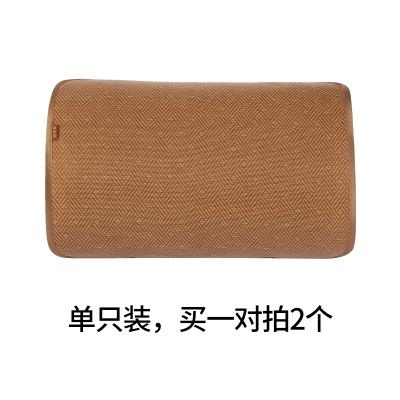 黃古林涼席枕片單人夏天然折疊防滑加厚空調透氣古藤枕席枕套 單個裝60*50cm