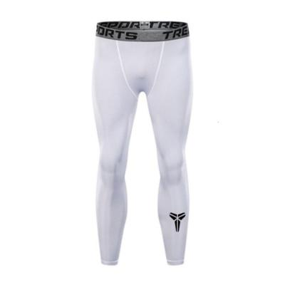 運動緊身褲男籃球透氣速干長褲跑步健身兒童成人打底褲訓練九分褲