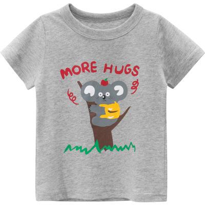夏季新品2020款韓版童裝 男童短袖可愛卡通考慮圖案T恤元氣小猴STRONG MONKEY