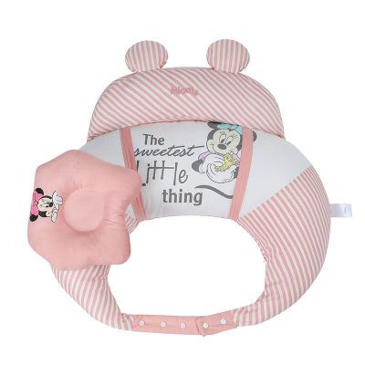 迪士尼(DISNEY)喂奶神器哺乳枕頭護腰喂奶枕坐月子神器懶人椅墊抱娃嬰兒趟喂橫抱