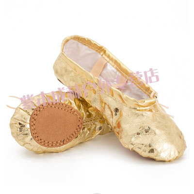肚皮舞鞋 金色舞蹈鞋练功鞋软底成人儿童芭蕾舞鞋银爪鞋肚皮舞鞋