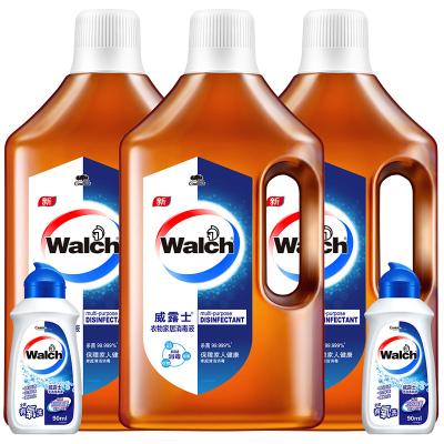 威露士衣物家居多用途洗衣除菌消毒液1L*3+威露士手洗洗衣液90ml*2