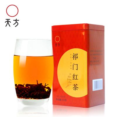 安徽天方茶叶150g祁红毛峰祁门红茶春茶 小罐装茶叶